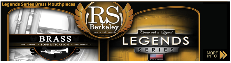 Legends Series Brass Mouthpieces
