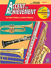 Accent on Achievement, Book 2 PercussionSnare Drum, Bass Drum & Accessories