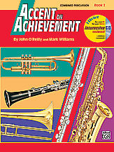 Accent on Achievement, Book 2 Combined PercussionS.D., B.D., Access., Timp. & Mallet Percussion