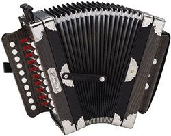 Hohner Ariette Accordion Dark Brown