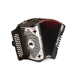 Hohner Panther Diatonic Accordion F-B-E