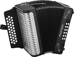 Hohner Panther Diatonic Accordion G-C-F