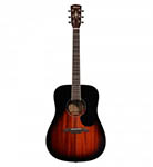 Alvarez Acoustic Guitar Dreadnought Mahogany Sunburst