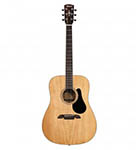Alvarez Acoustic Guitar Dreadnought Natural Solid Top