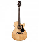 Alvarez acoustic Guitar Folk Natural Cut Acoustic electric Solid Top