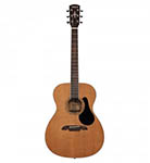 Alvarez acoustic Guitar Folk Natural Solid top