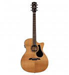 Alvarez Acoustic Guitar Grand Auditorium Natural Cutaway Acoustic electric Solid Top