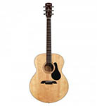 Alvarez Acoustic Guitar Jumbo Natural Solid Top