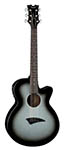 Dean Axcess Performer Acoustic Electric Silverburst