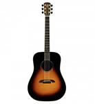 Alvarez Acoustic Guitar dreadnought Sunburst