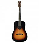 Alvarez Acoustic Guitar Dreadnought round shouldered Sunburst