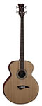 Dean Acoustic Electric Bass Natural
