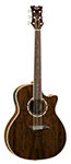 Dean Exotica Acoustic Electric Walnut