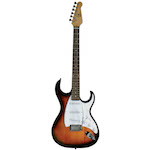 J Reynolds Electric Guitar - Antique Sunburst