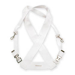 Ludwig Bass Drum Harness-White