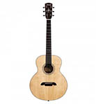 Alvarez Acoustic Guitar Little jumbo Solid Top with Gig Bag