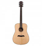 Alvarez Acoustic Guitar Dreadnought Natural All Solid Abalone
