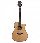 Alvarez Acoustic Guitar Folk/One Piece Mahogany Natural Cutaway Acoustic Electric All Solid Abalone