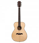 Alvarez Acoustic Guitar Folk/One Piece mahogany Natural All Solid Abalone