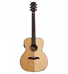 Alvarez Acoustic Guitar Grand Auditorium Natural Acoustic Electric All Solid Abalone