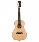 Alvarez Acoustic Guitar Parlor Natural All Solid Abalone