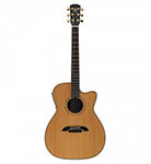 Alvarez Acoustic Guitar Folk Natural Cutaway Acoustic electric Cedar All Solid