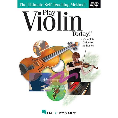 - Includes Student 4//4 Violin w//Case Learn to Play the Violin Pack Disney Music Book Bundle Homeschool Music Books /& All Inclusive Learning Essentials DVD
