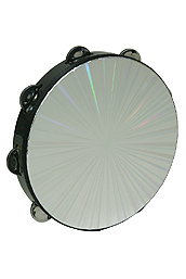 Remo Tambourine, Radiant, 10-By-1 Row