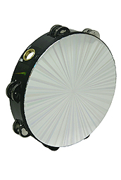 Remo Tambourine, Radiant, 10-By-2 Rows