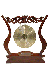 Dobani Gong Stand, Frame (14-Inch Holding Size)