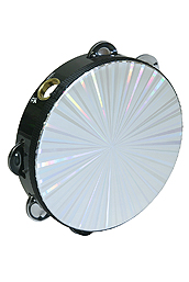 Remo Tambourine, Radiant, 8-By-1 Row
